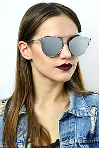 Cолнцезащитные женские очки графитовый 679