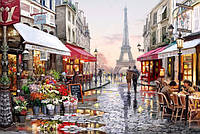 Алмазная вышивка на подрамнике Любимый Париж, Франция 40 х 50 см (арт. TN674)