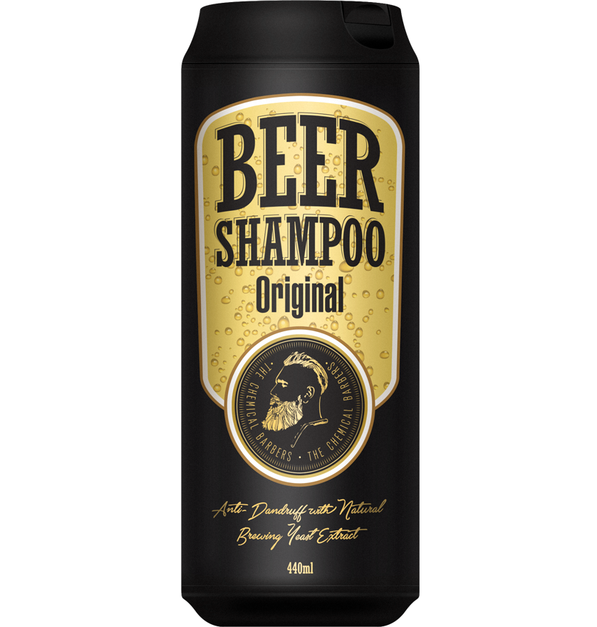 The Chemical Barbers Beer Shampoo Original - Шампунь против перхоти