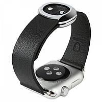 Ремешок Baseus Modern Series Black для Apple Watch 38mm Series 1/2/3