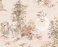 Флизелиновые обои A.S.CREATION ROMANTICA 30429-2 Розовый