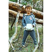 Детский спортивный костюм для мальчика  темно-синий 128 Модный карапуз (03-00474-2)