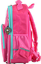 """Ранец ортопедический школьный """"YES"""", Oxford OX 379 розовый, 555706, фото 3"""