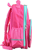 """Ранец ортопедический школьный """"YES"""", Oxford OX 379 розовый, 555706, фото 2"""