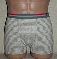 Боксерки мужские шорты однотонные спорт резинка стрейч Redo Польша