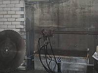 Алмазная резка стенорезными гидравлическими пилами