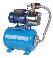 Насосная станция гидрофор HF JS-100 для воды нержавеющая. насосн.часть 1.1кВт Hmax52м Qmax58л/мин 24л