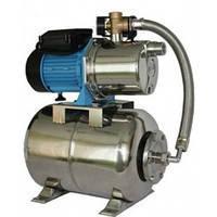 Насосная станция гидрофор HF JS-100 N для воды нержавеющая. насосн.часть 1.1кВт Hmax52м Qmax58л/мин 24л