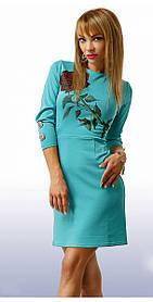 Платье женское с розой арт. 5924
