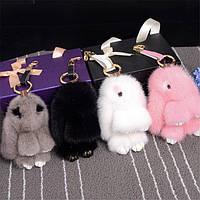 Брелок Меховой Кролик, фото 1