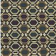 Гобелен ткань, геометрия, ромб, фото 2