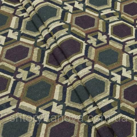 Гобелен ткань, геометрия, ромб