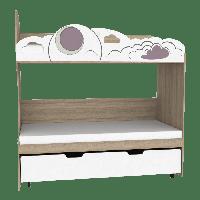 Двоярусне ліжко C-MOD-02