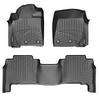 Коврики для Toyota Land Cruiser 200 с 2012-, комплект ковриков 4шт, WeatherTech