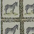 Гобелен ткань, зебра, фото 2