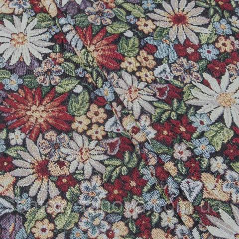 Гобелен ткань, сад цветов