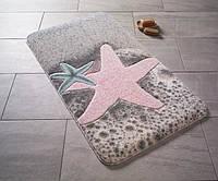 Коврик для ванной 80*140 Confetti Starfish Pink CB35