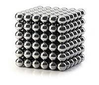 Неокуб Никелевый  216 шариков 5 мм Silver