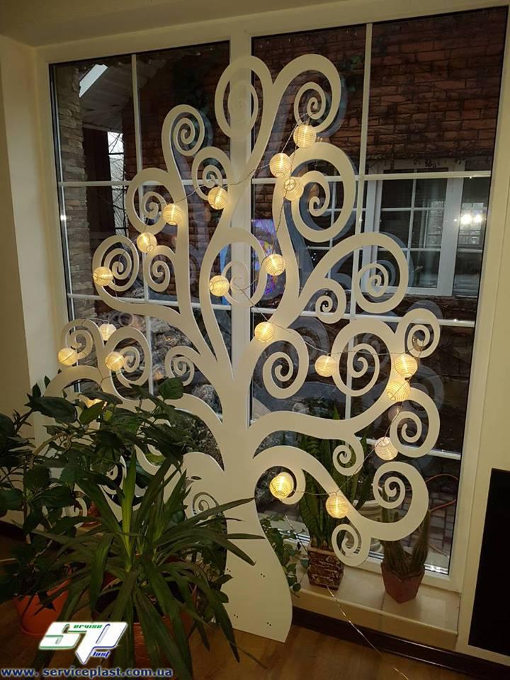 Ажурное дерево, свадебное оформление, декор