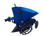 Картофелесажатель мотоблочный K-1Л (синий) с транспортировочными колесами