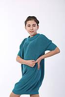Сукня трикотажне, зелений, фото 1