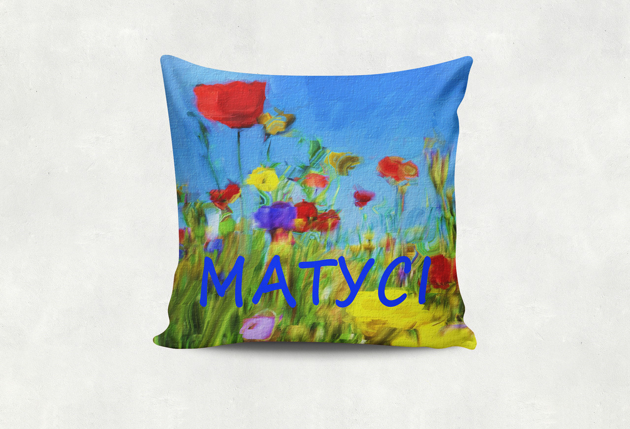 Подушка Матусі польові квіти