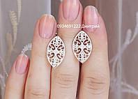 Серебряные серьги Г40983, фото 1