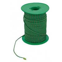 Лінь нейлоновий зелено-чорний 2mm (100m)