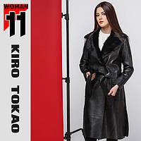 11 Киро Токао | Женское пальто демисезонное 8668 черный