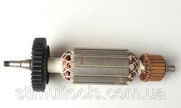 Якорь (ротор) для УШМ Ferm 125 880 W (160.5 *35 шлиц 6.5 мм)