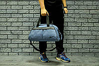 Спортивная сумка найк (Nike), текстиль под джинс