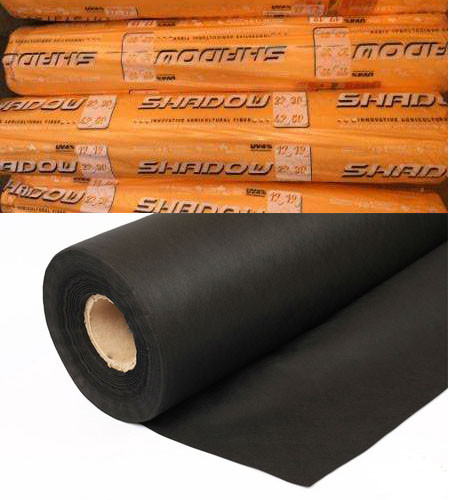 "Агроволокно ""Shadow"" (Чехия) 4% черное 60 г/м² , 1,6х100 м."