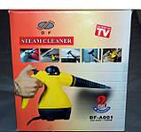 Отпариватель с функцией пароочистителя Steam Cleaner DF-A001 - бытовой пароочиститель, фото 5