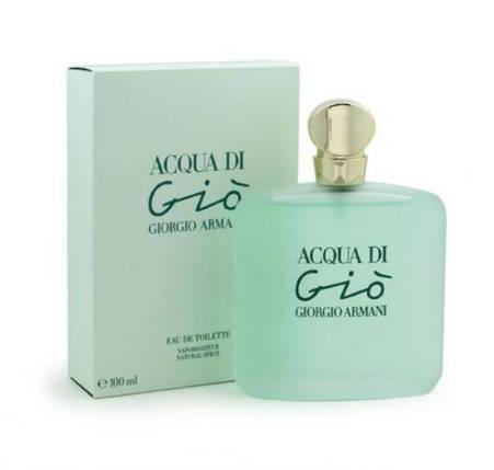 Giorgio Armani Acqua di Gio Woman туалетная вода 100 ml. (Джорджио Армани Аква Ди Джио Вумен), фото 2