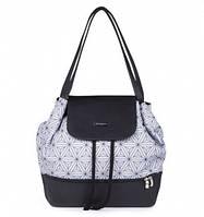 Рюкзак для мамы с матрасом для пеленания Цветы BabyOno Uptown 1501, фото 1