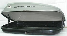 Автомобильный бокс Terra Drive 320 серый правосторонний, фото 3