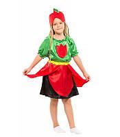Карнавальный костюм ТЮЛЬПАН ДЛЯ ДЕВОЧКИ 4,5,6,7,8,9 лет, детский маскарадный костюм ЦВЕТОК ТЮЛЬПАНЧИК