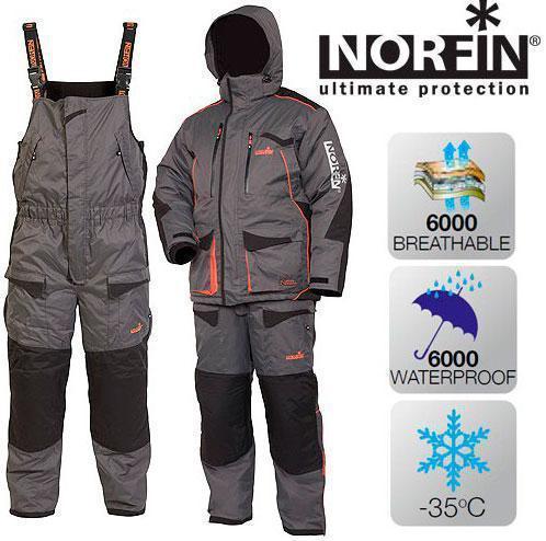 Зимний костюм Norfin Discovery Gray размер М
