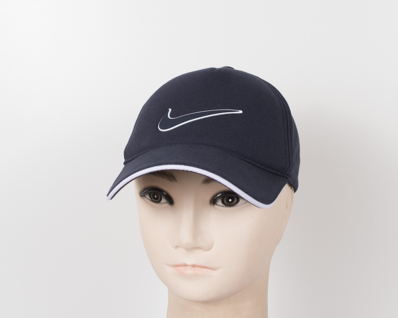 "Бейсболка ""Трикотаж х/б 5кл"" Nike синий"