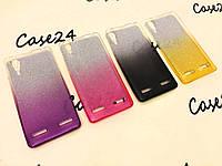 TPU чехол Gradient для Lenovo K3 (4 цвета)