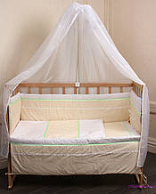 Комплект детской постели в кроватку Лапушка
