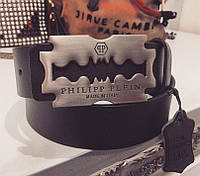 Ремень Philipp Plein топ натуральная кожа