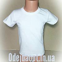 Детская белая футболка оптом и в розницу, фото 1