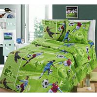 Полуторный подростковый постельный комплект Форвард, ранфорс, хлопок