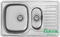 Мойка кухонная Kraft M7848_0,8 mm (декор), фото 1