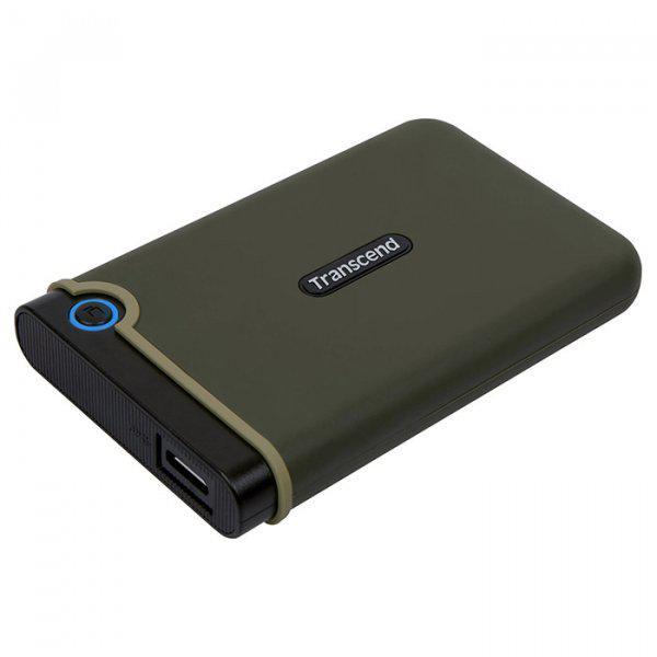 """Внешний жесткий диск 2.5"""" USB3.0 1TB StoreJet Slim (TS1TSJ25M3G)"""