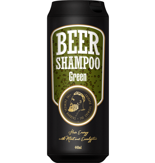 The Chemical Barbers Green - Шампунь с мятой и эвкалиптом