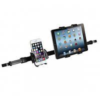Двойной автомобильный держатель iMount 50HD12-88 для смартфонов и планшетов в подголовники