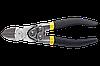 Topex Кусачки боковые шарнирные 180 мм, рукоятки с эластичным покрытием, сталь CS