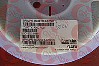 Резистор постоянный RC2010FK-075K11L YAGEO 2010 Сопротивление 5,11kOhm Мощность 750mW Допуск 1 %